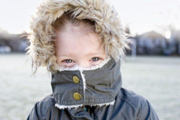 Помощь при обморожении щек у детей